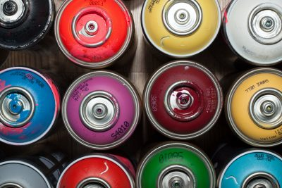 température pour peindre avec une bombe de peinture