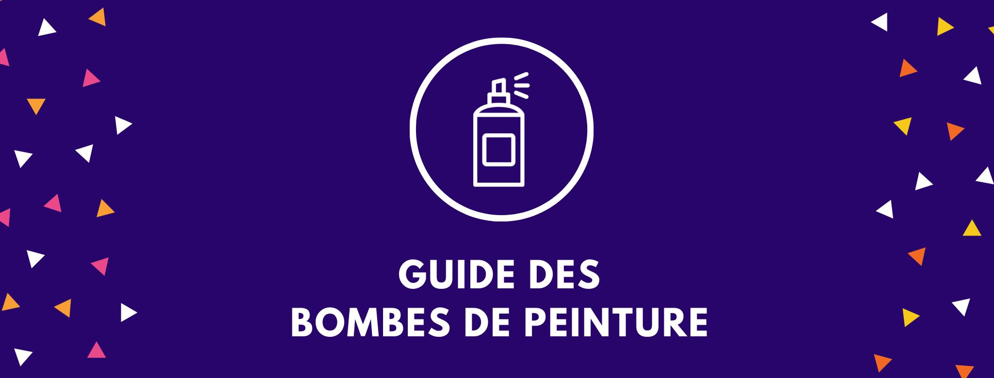 guide des bombes de peinture