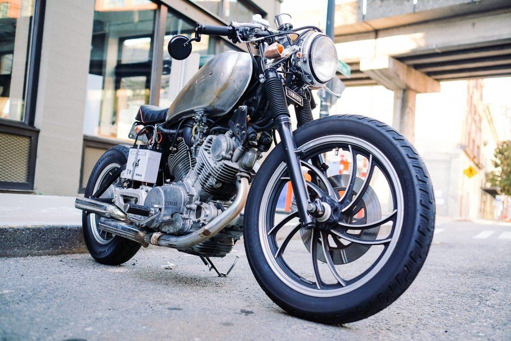moto vintage à refaire