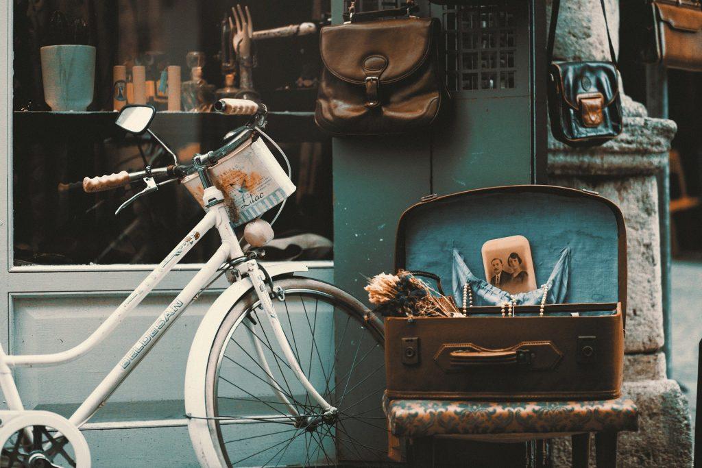 vélo rouillé à repeindre