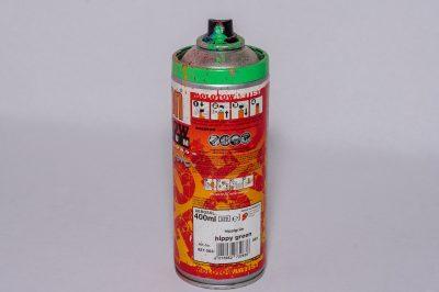 peinture aérosol en bombe