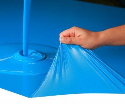 peinture pelable bleu