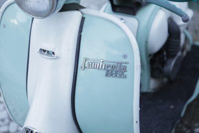 carénages d'un scooter